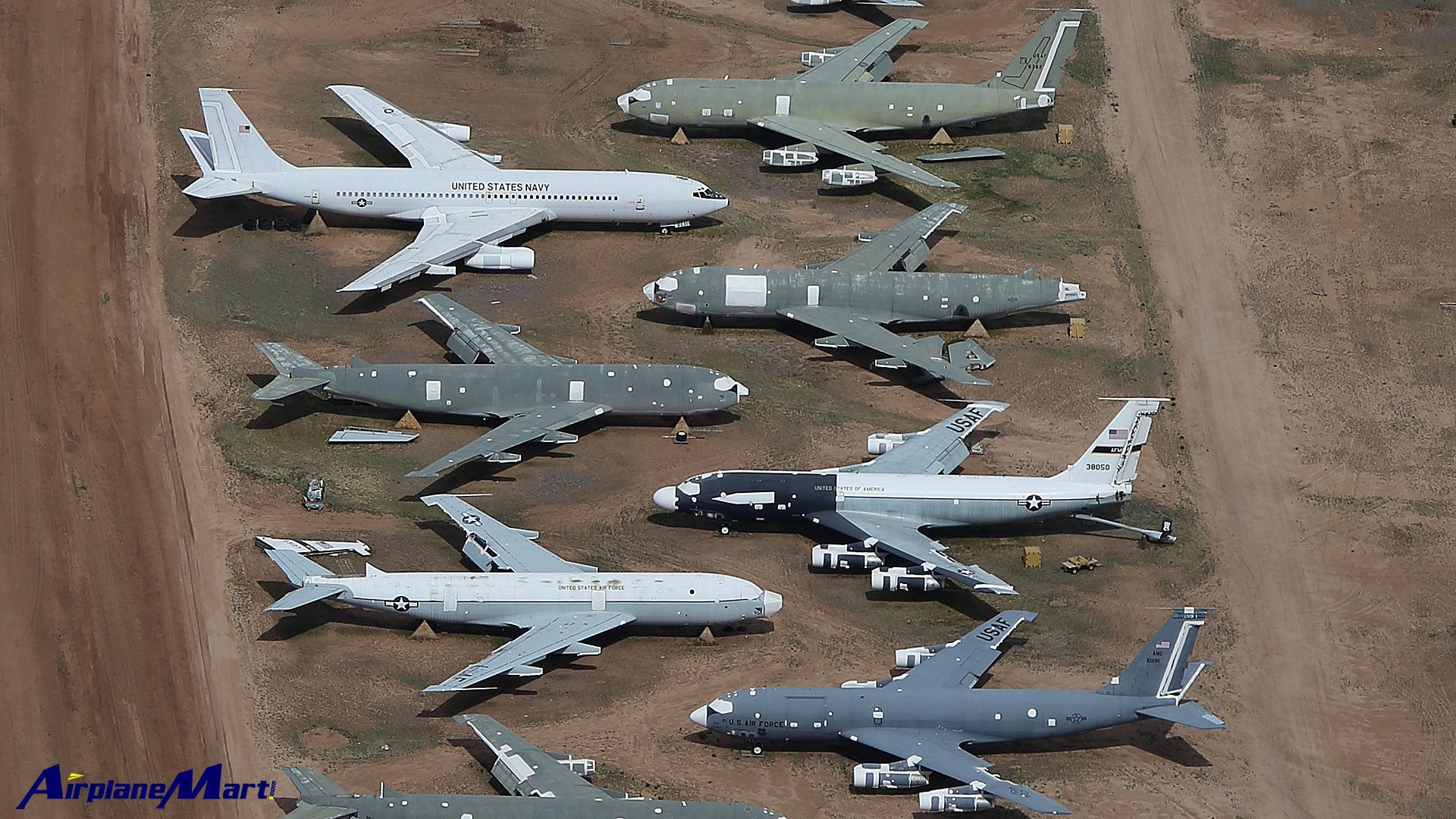 Davis Monthan Amarg S Role As The Largest Military Aircraft Boneyard