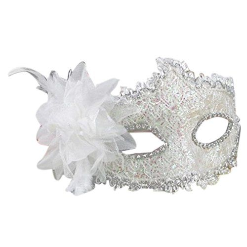 843F Hollow Lace Eye Costume Mask Masquerade Mardi Gras Venetian Wedding Party