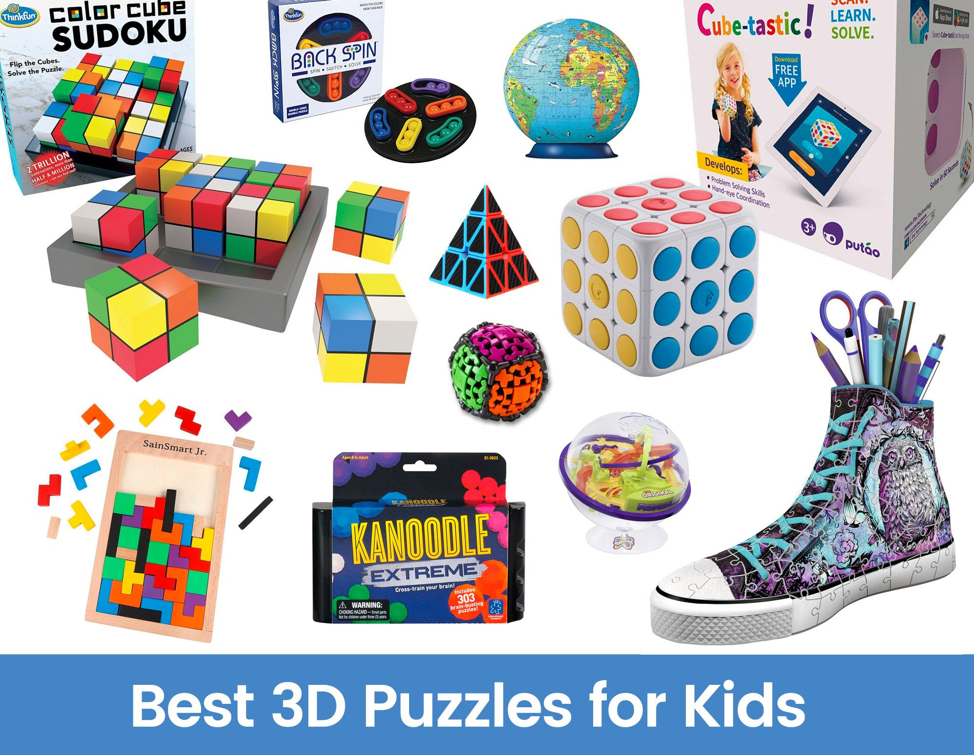 Best 3D Puzzles for Kids Tech Toys for Kids