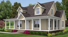 Cape Cod Modular Home Design, House Plans Hampton Virginia ...