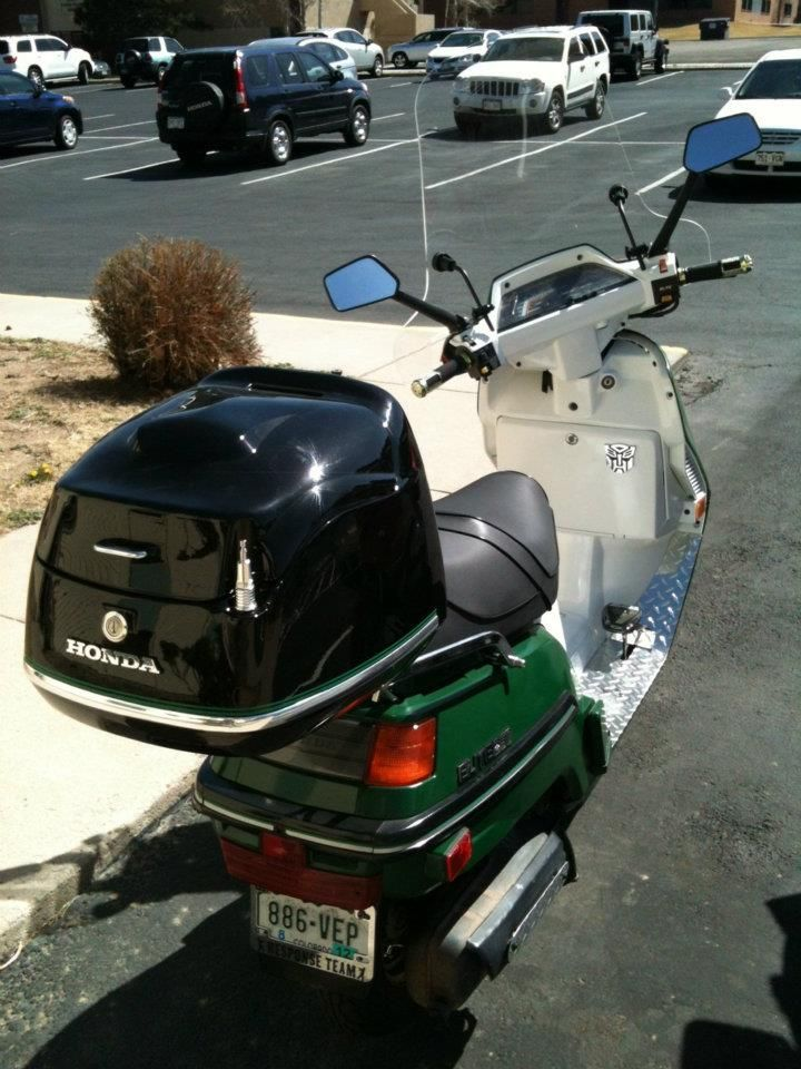 The Windscreen Was The Finishing Touch On My Honda Elite 250 Honda Scooters Honda Motorcycle