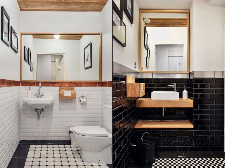 Charming Restaurant Restrooms
