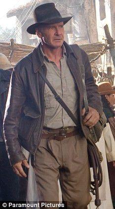 Original Leather Jacket of Indiana Jones Harrison Ford