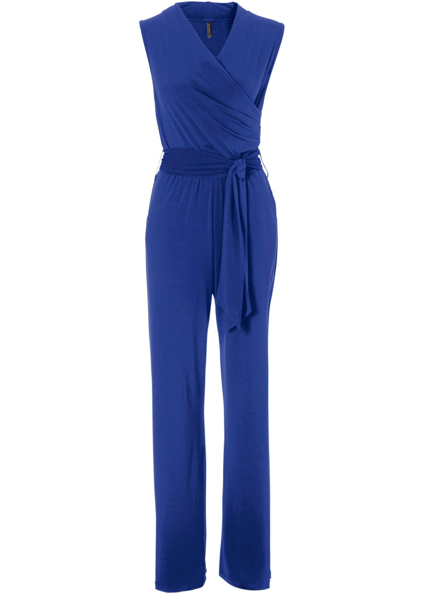 Macacão pantalona com cinto azul escuro encomendar agora na loja on-line  bonprix.de R  119 1510a01bac118