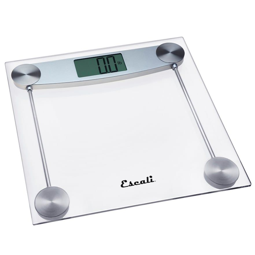Escali Clear Glass Bathroom Scale Glass Bathroom Clear Glass Glass