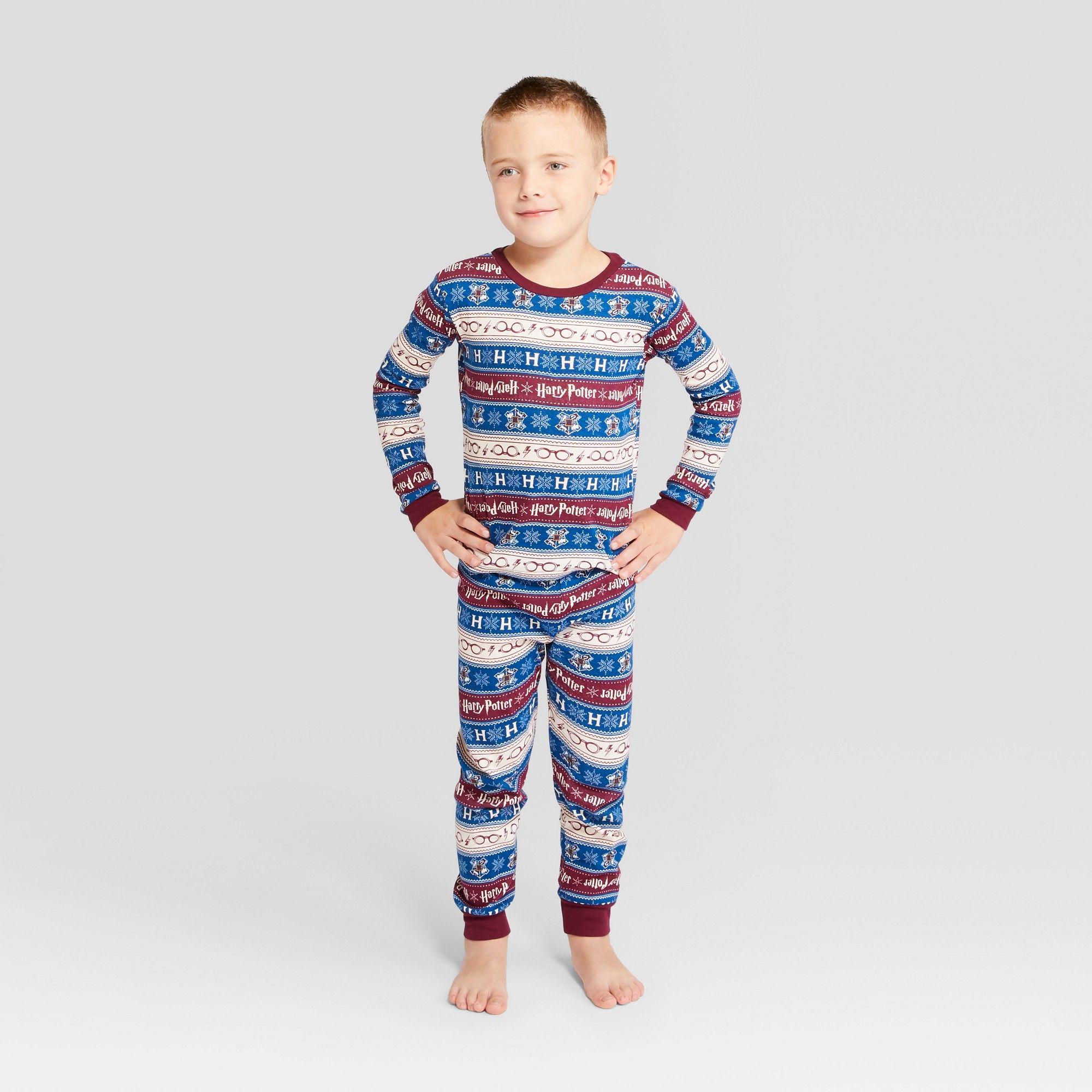 Boys Childrens Harry Potter Pyjamas Nightwear Sleepwear Pjs Pajamas