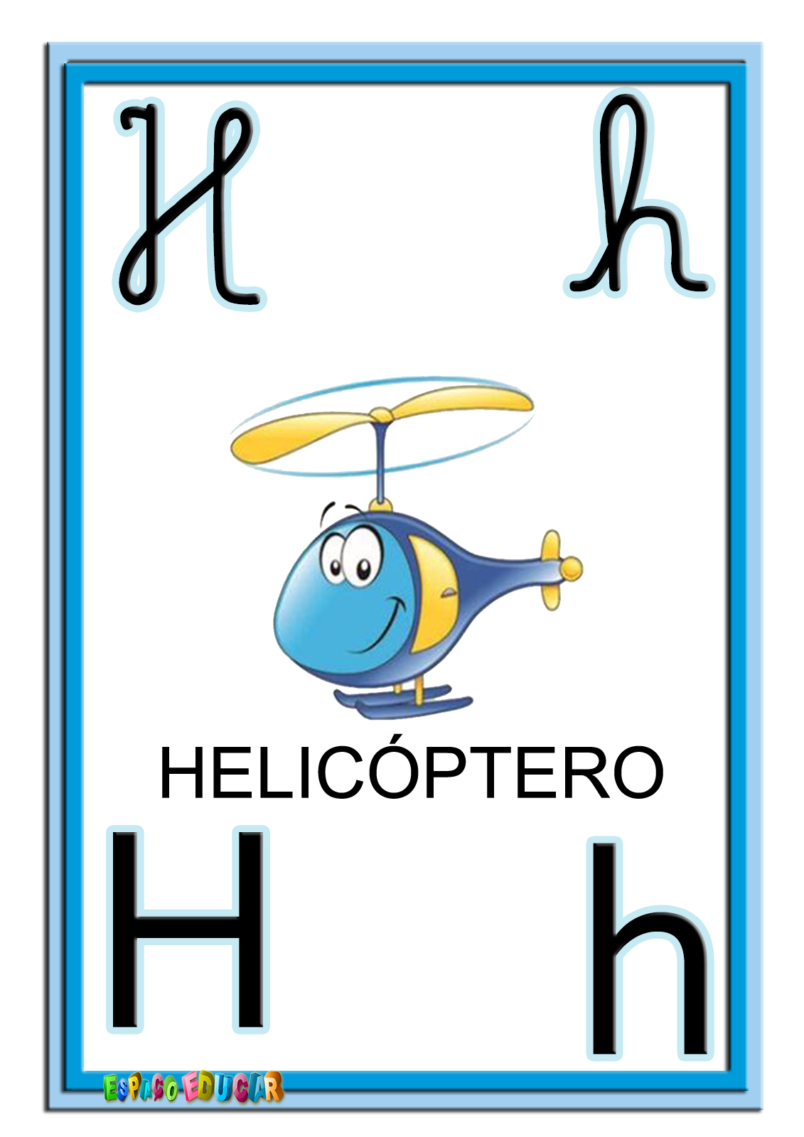 Alfabeto Colorido Quatro Tipos Letras Www Espacoeducar 289 29 Png  -> Desenhos Para Alfabeto Ilustrado