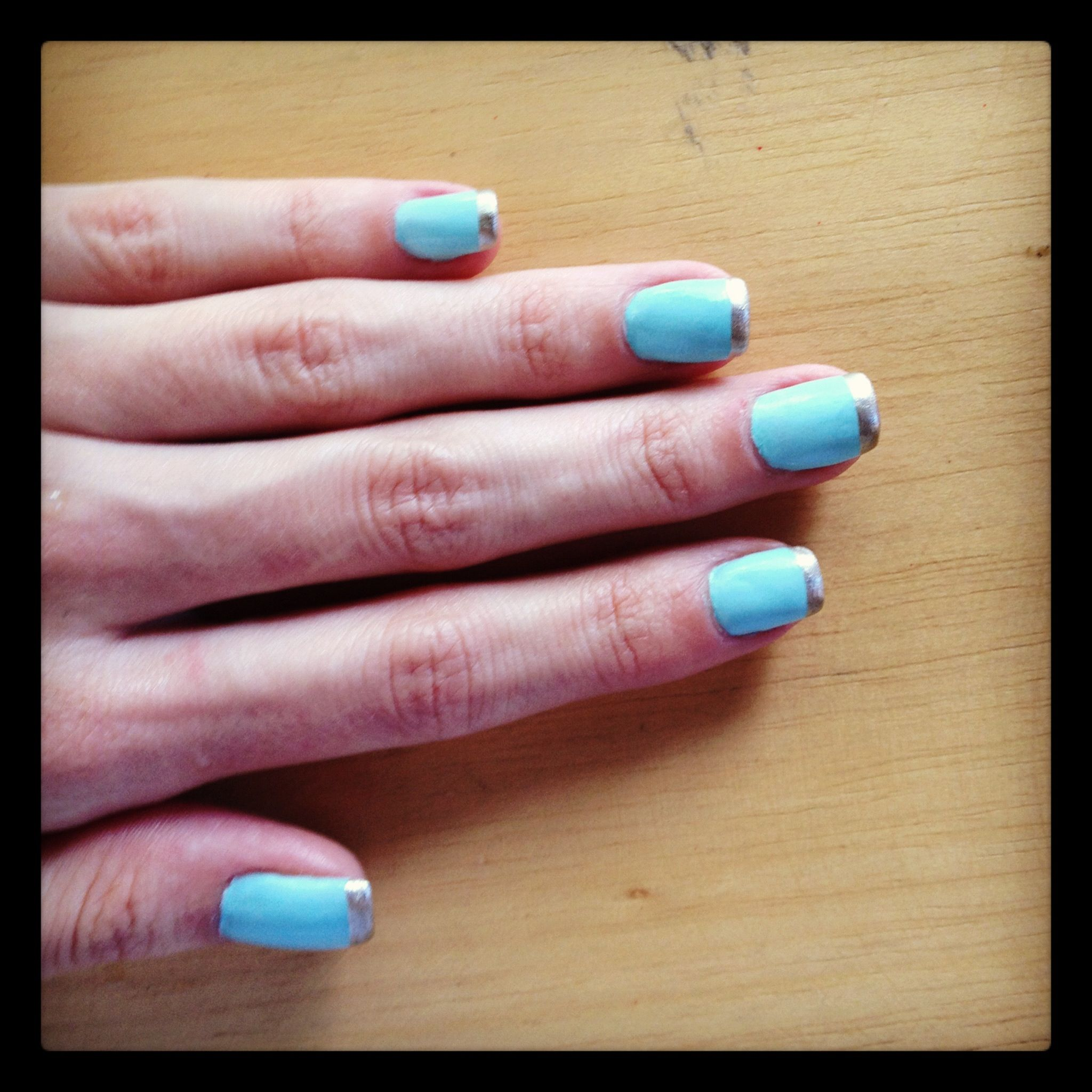 Crazy french manicure! Life is color!