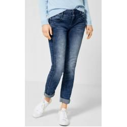 Photo of Street One – Casual Fit Denim Jane in Mid Blue Random Bleached-32er Länge Street One