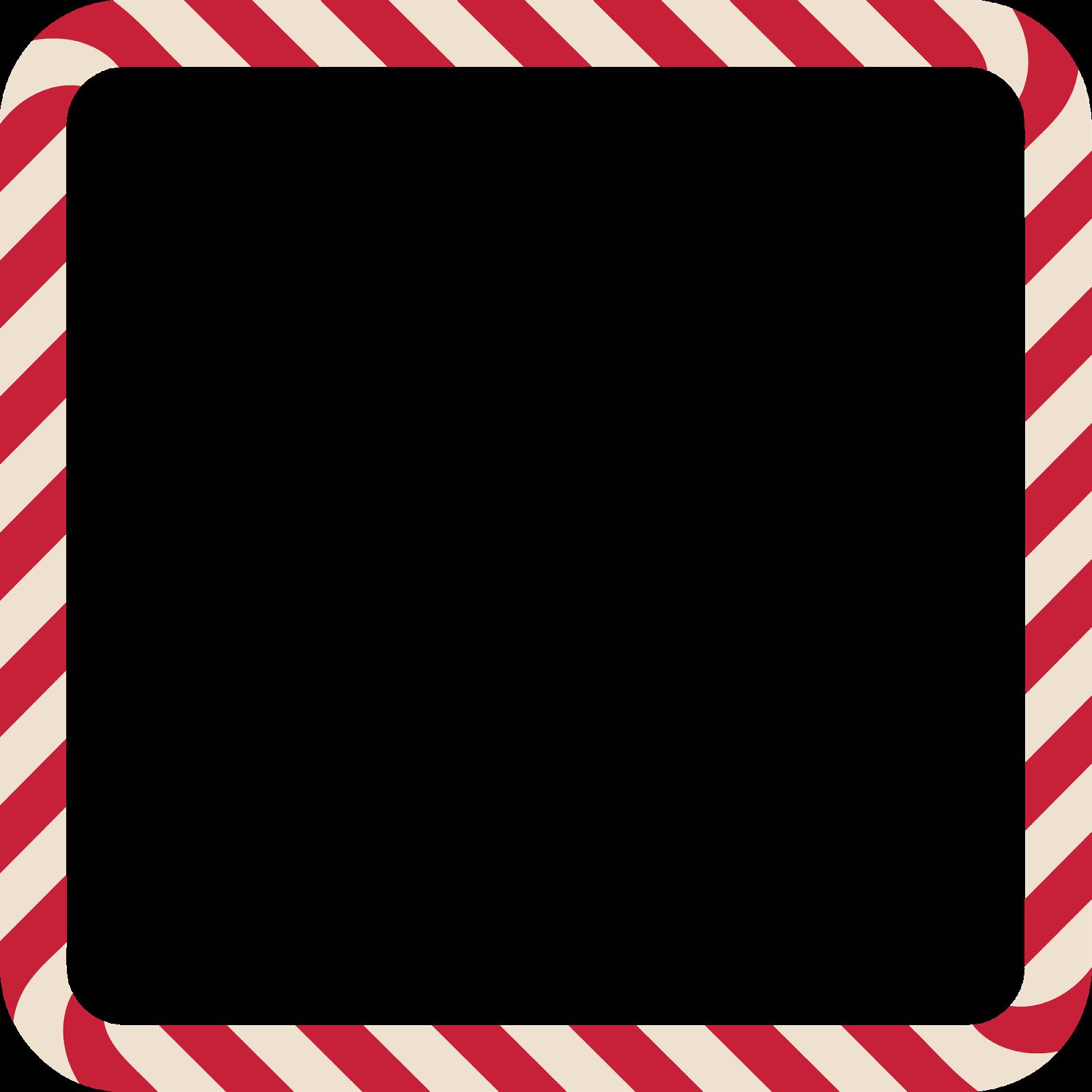 Wonderland In A Wardrobe: Candy Cane Frames Freebies! | Vector ...