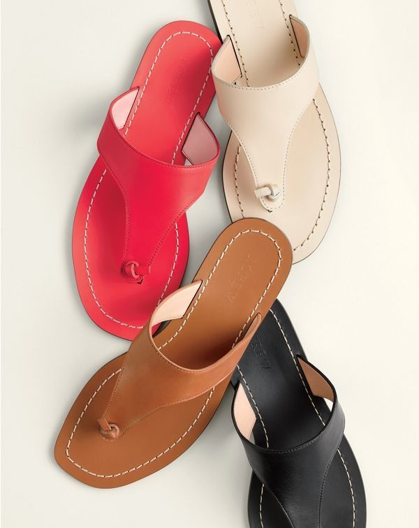 f4907d4dbadc3 Introducing the J.Crew women s playa sandal. So perfect for the beach that  we named them after the beach.