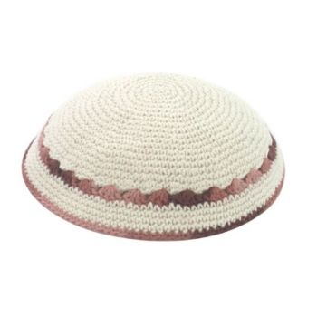 Knit Kippot, Knitted Kippahs - ahuva Judaica | Bat Mitzvah | Pinterest