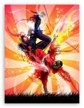 Break Dance Colorful wallpaper Colorful wallpaper
