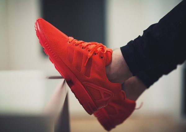 Adidas ZX Flux Rouge Triple Red October