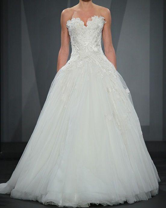Mark Zunino Style 70, $4,000 Size: 4 | Used Wedding Dresses | bridal ...
