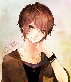Image Result For Brown Haired Anime Boy Artist Manga Cute Cute Anime Guys Anime