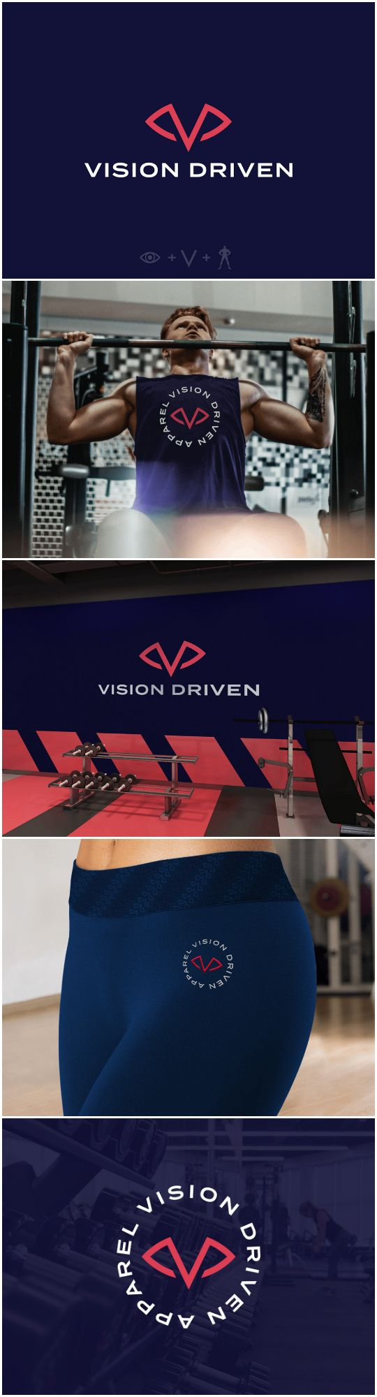 Vision Driven Gym and Apparel Branding (With images