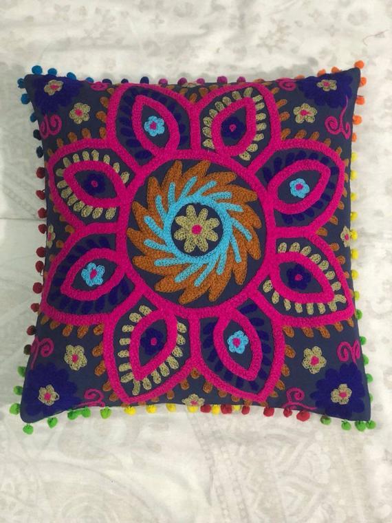 Indian Handmade Cotton Antique Pillow