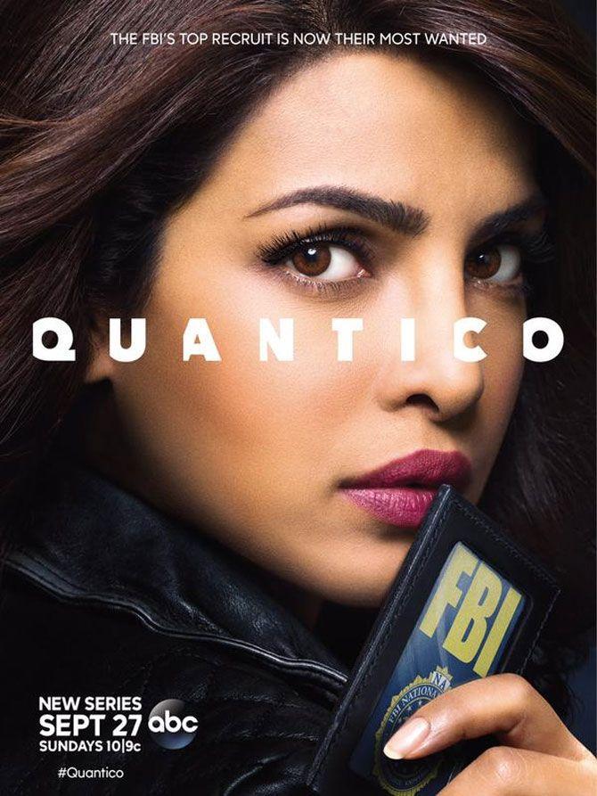 Priyanka Chopra Unveils Official Poster Of Quantico Quantico Tv Show Quantico Movies