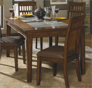 Rockwood Slate Inlay Rectangular Dining Table Ibv F Brings You