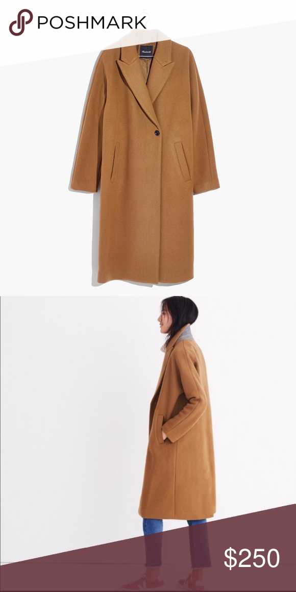 Madewell Atlas Cocoon Coat madewell atlas cocoon coat in
