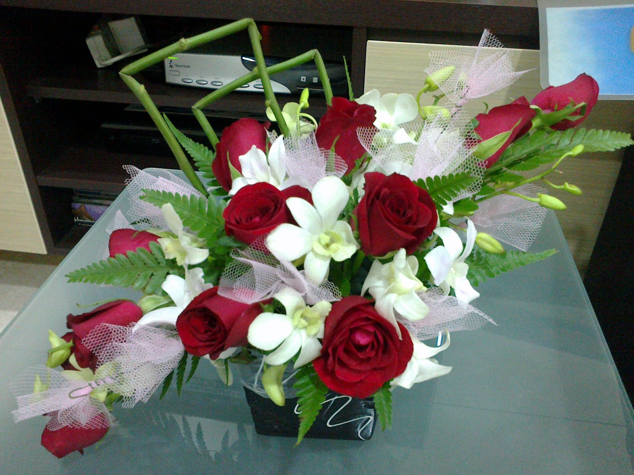 Diagonal Flower Arrangements This Entry Was Posted On