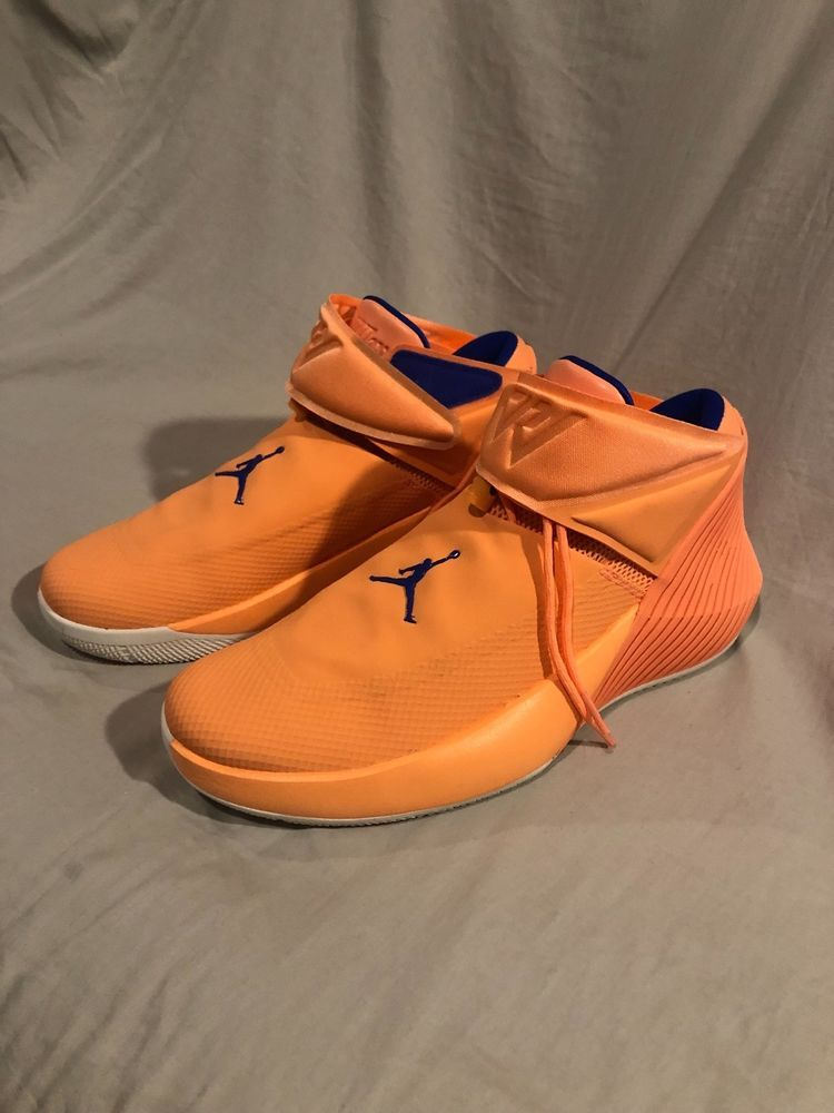 ... NEW JORDAN WHY NOT ZERO.1 MEN S BASKETBALL SHOES ORANGE PULSE SIZE 10  AA2510 ... a40b613acc
