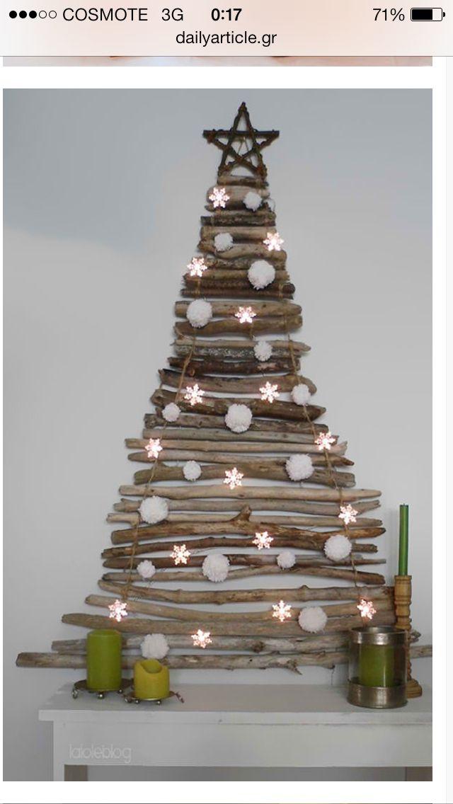 Weihnachtsbaum Holz - Xmas tree wood Christmas Pinterest Xmas