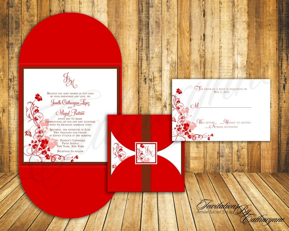 half petal square envelope with matching seal label custom printed ...