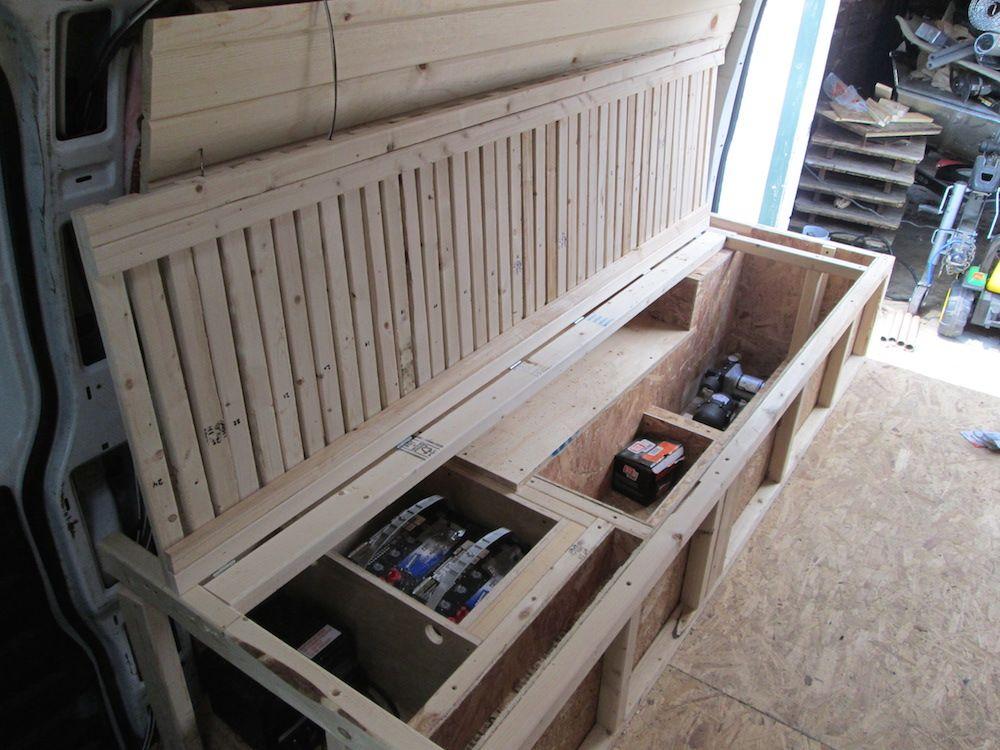 Building the Bed Frame (Part 3) Bed frame