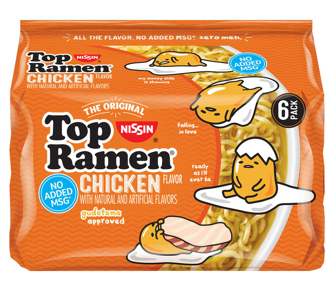 Delicious As Is Or Tossed With Your Favorite Ingredients Top Ramen Is Always A Simple Pleasure With Reduced Sodium Content Chicken Flavors Lazy Egg Top Ramen