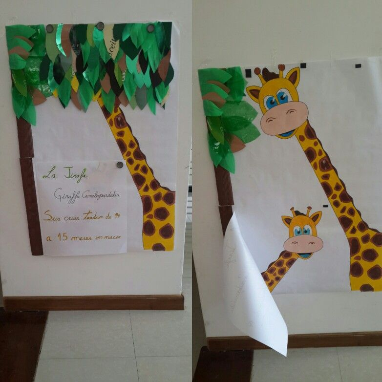 Ideas Jirafa Material De Apoyo Exposicion Exposiciones Jirafas Actividades Para Preescolar