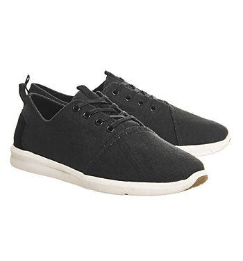 Toms Viaje Sneaker Black Burlap - Casual