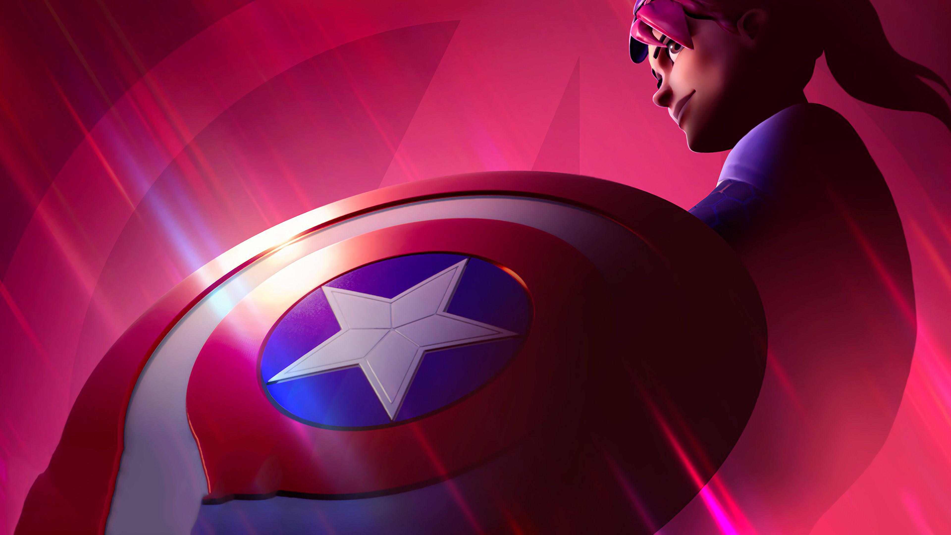 Fortnite Captain America Avengers 4k Hd Wallpapers Games Wallpapers Fortnite Wallpapers Avengers Endgame Wallpapers 4k Wa Captain America Fortnite Avengers