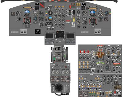 Boeing 727 200 Cockpit Diagram Check Out This New Poster On At Our