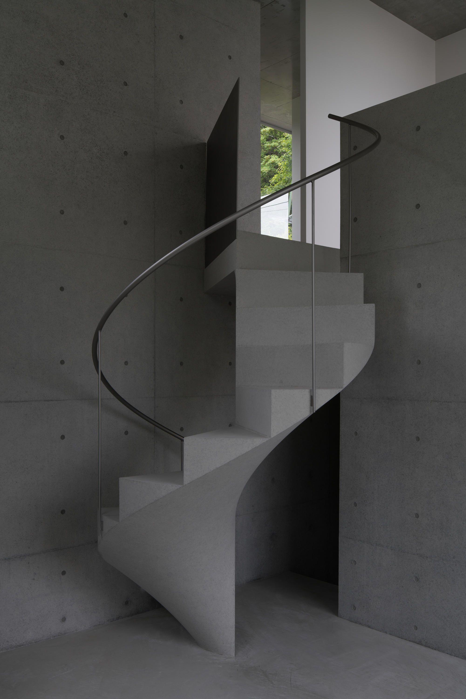 Best House In Ashiya Spiral Staircase Interior Staircase Design 400 x 300