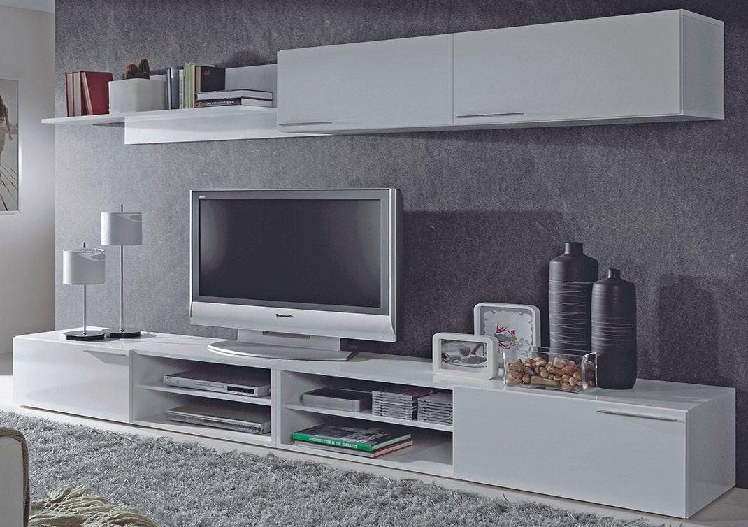 Muebles de sal n minimalistas blog de decoraci n de - Muebles de television baratos ...