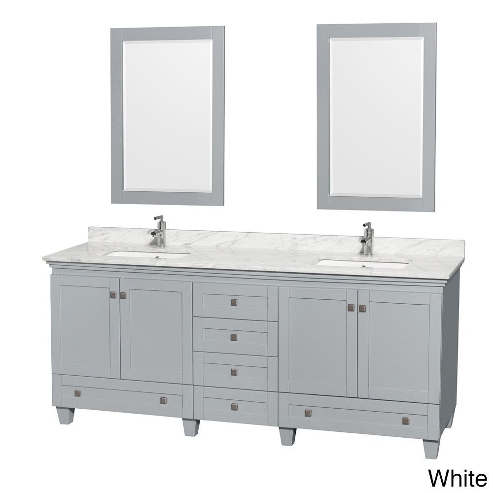 80 inch mirror vanities wyndham collection acclaim 80inch oyster grey double vanity with