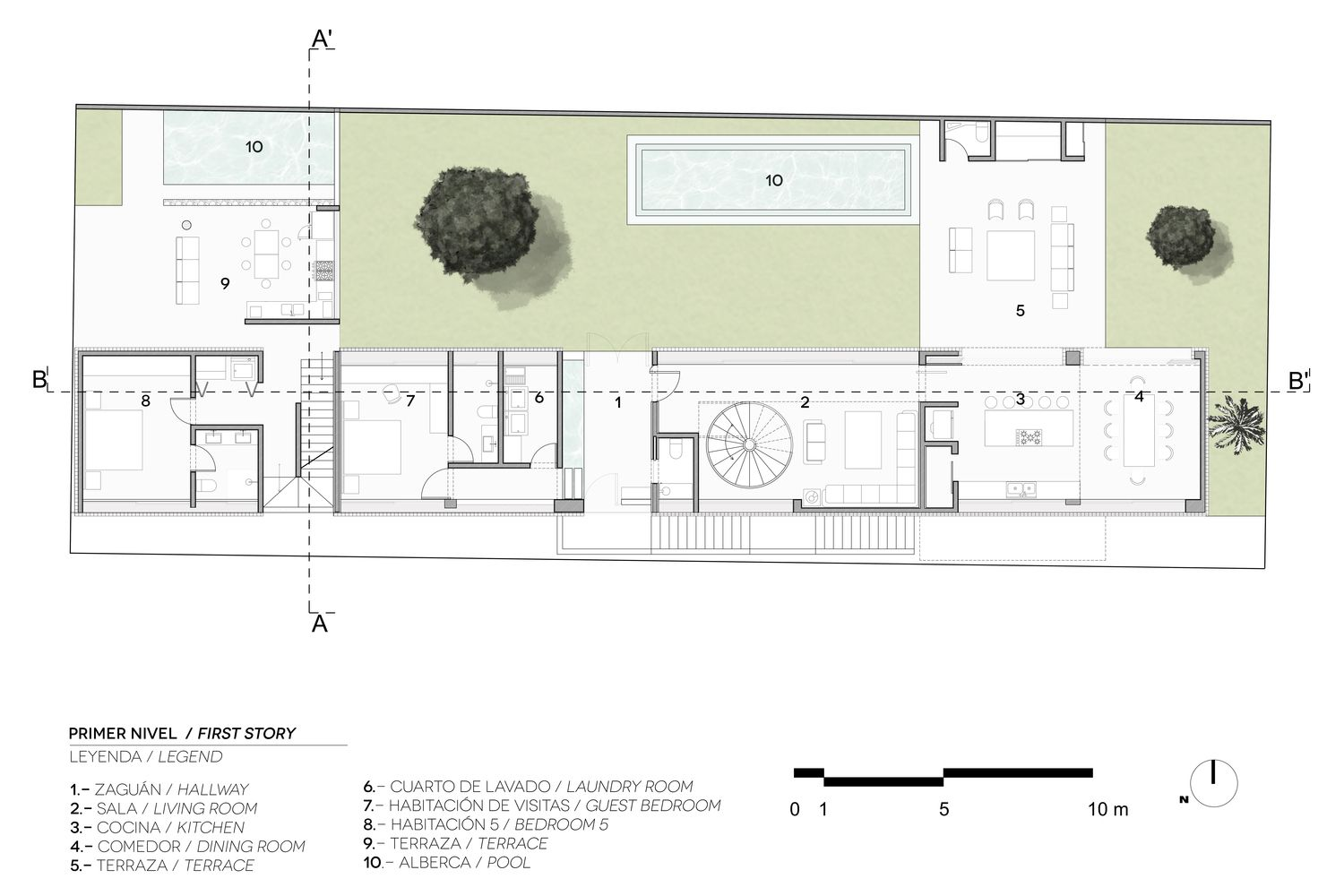 Gallery Of Sundaram House Rvo Studio 18 Floor Plans House Studio