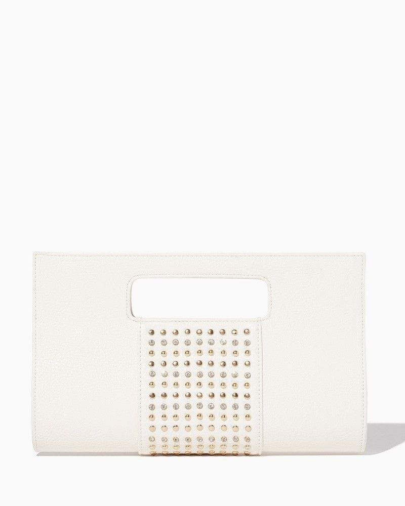 charming charlie | Cut Out Studded Clutch #charmingcharlie
