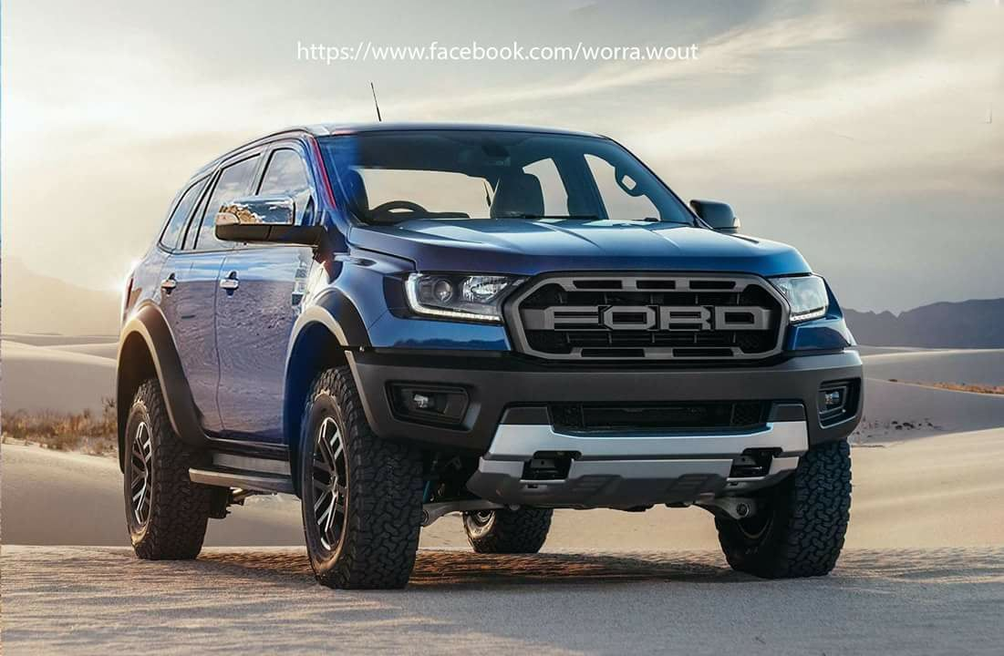 Ford Everest Raptor Cgi 2019 Ford Ranger Ford Ranger Raptor