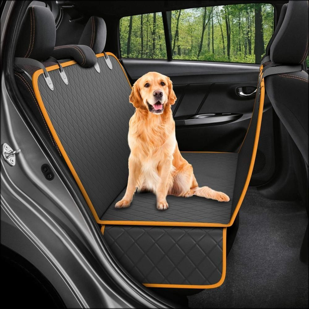 Lanke Dog Back Seat Cover Protector Waterproof