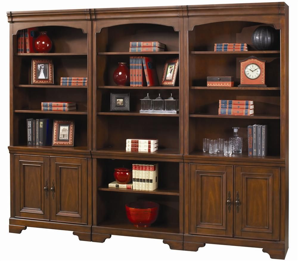 Richmond Large Bookcase by Aspenhome   Brown bookcase ...