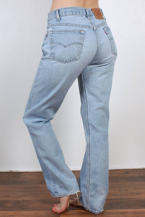 Vintage Levis 501 Jeans 80s Denim Pants Straight Leg High Levi Jeans 501 501 Jeans Levi