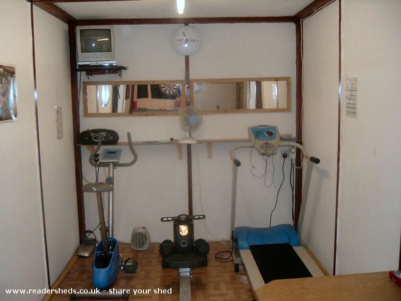 Jans Gym Unique From Eastham Wirral Shedoftheyear Enter Your Shed Now For 2020 Shed Of The Year Eastham Home Decor