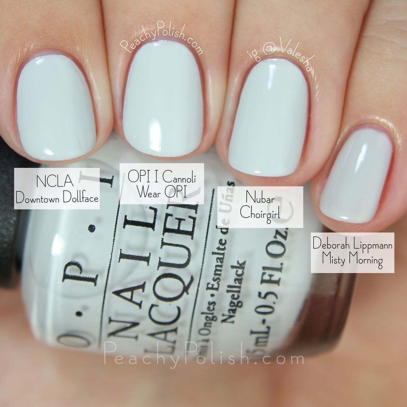 OPI I Cannoli Wear OPI Comparison | Fall 2015 Venice Collection ...