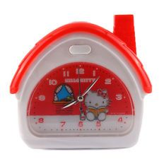 SANRIO HELLO KITTY HOUSE SHAPE ALARM CLOCK 6 MELODY CHIME 5781 1
