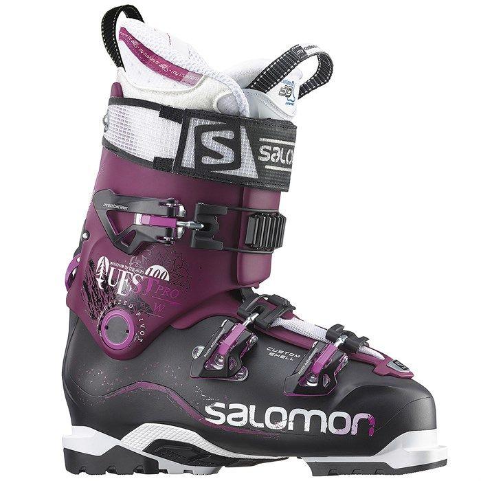 Salomon Quest Pro 100 Ski Boots Women S 2016 Womens Boots Boots Chelsea Boots Women
