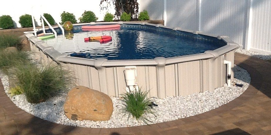 Rocks Landscaping Around Pool Pools Tiki Bars