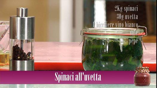 Un contorno gustoso con il dolce sapore dell'uvetta. Ecco come prepararlo http://bit.ly/spinaci-uvetta